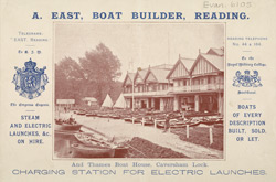 Advert For A. East. Boat Builder